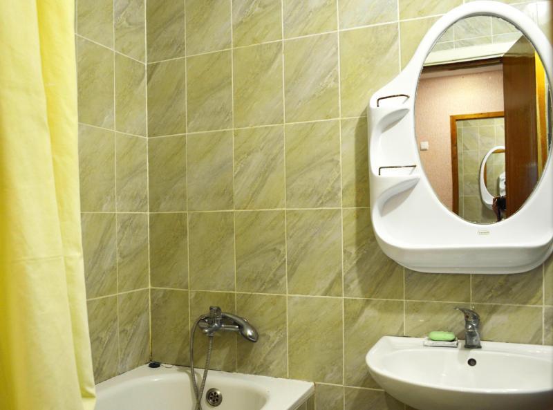 Ванная комната номера Люкс
